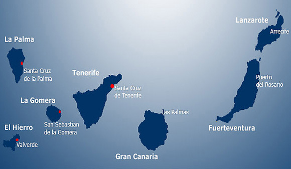 Large La Gomera Maps For Free Download And Print High Resolution